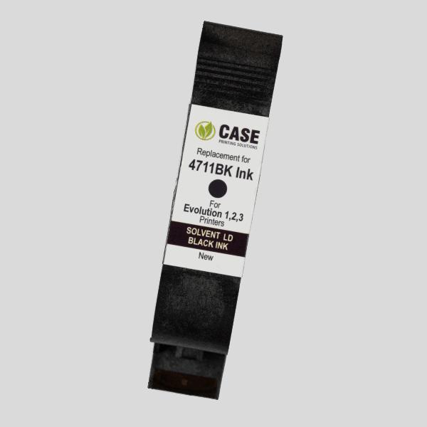 Evolution Ink 4711BK Ink Cartridge